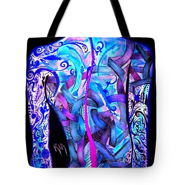 Intricate Woman Tote Bag