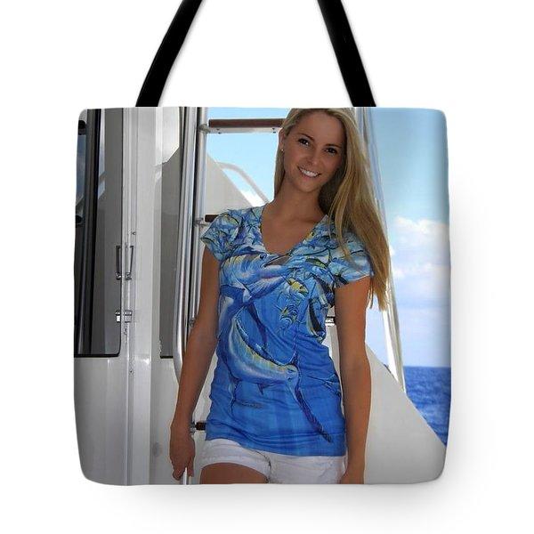 Intruder Ladies Dress Tote Bag