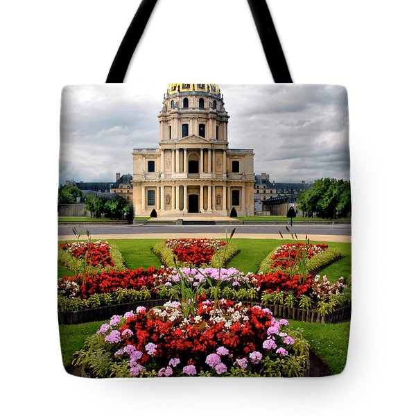 Invalides Paris France Tote Bag by Dave Mills