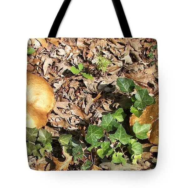 Invasive Shrooms Tote Bag