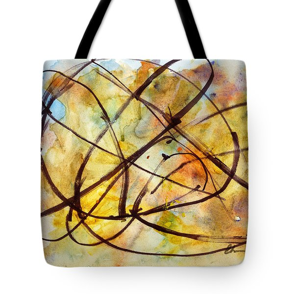 Inverno Abstract Watercolor Tote Bag