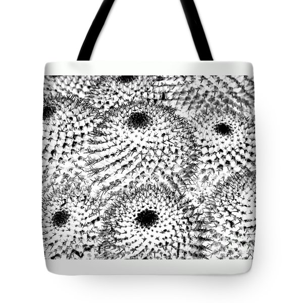 Tote Bag featuring the photograph Invisible Cactus by Rebecca Margraf