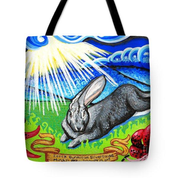 Iorek Byrnison Silvertongue Tote Bag by Genevieve Esson