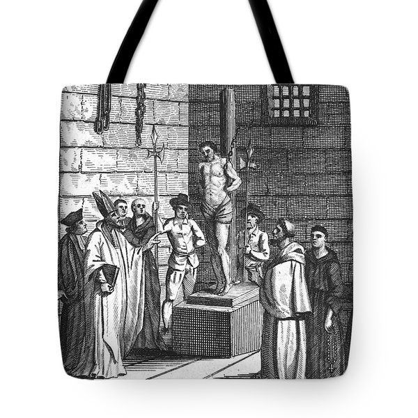 Ipswich Martyr, 1555 Tote Bag by Granger