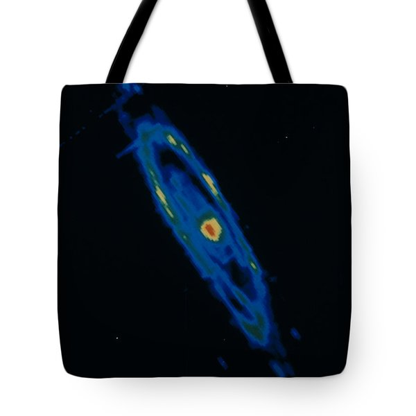 Iras Infrared Image Of The Andromeda Tote Bag by NASA / Science Source