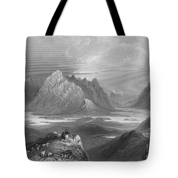 Ireland: Lough Inagh, C1840 Tote Bag by Granger