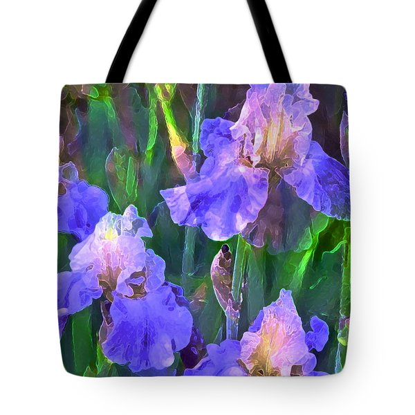 Iris 51 Tote Bag by Pamela Cooper