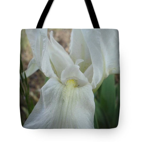 Tote Bag featuring the photograph Iris Angel by Kerri Mortenson