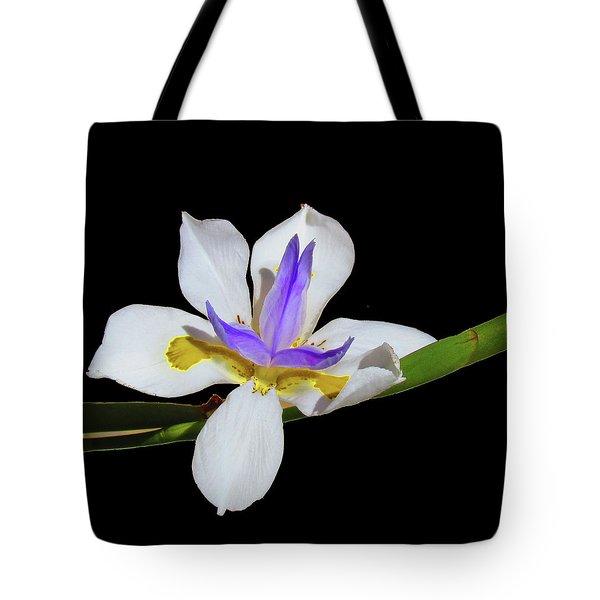 Iris Tote Bag by Bonnie Muir