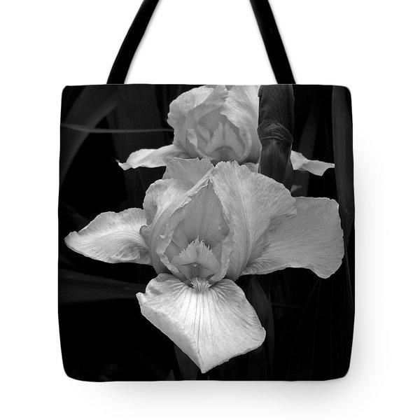 Tote Bag featuring the photograph Iris by David Pantuso