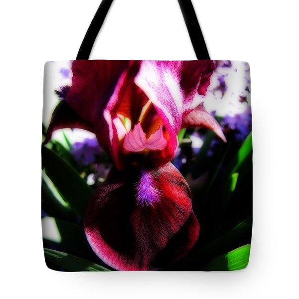 Iris Inner Beauty Tote Bag by Ms Judi