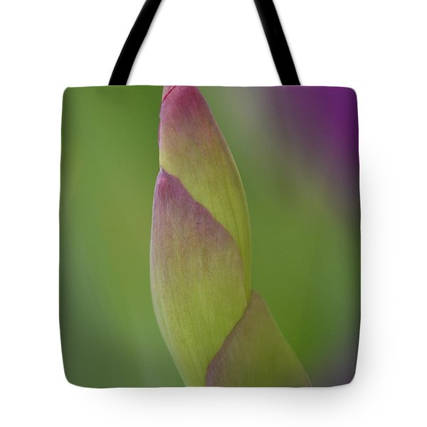 Iris-istible 2 Tote Bag by JD Grimes