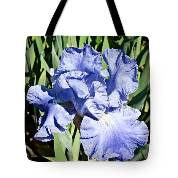 Tote Bag featuring the photograph Iris by Nick Kloepping