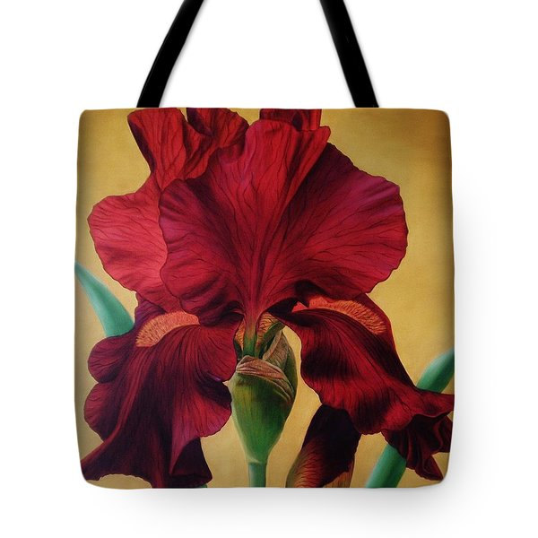 Iris Tote Bag by Paula Ludovino