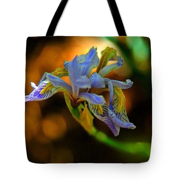 Tote Bag featuring the photograph Iris by Tam Ryan