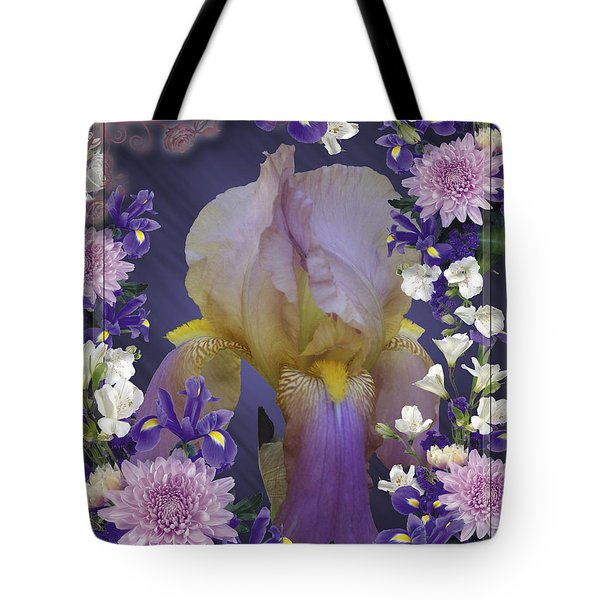 Iris Within Tote Bag