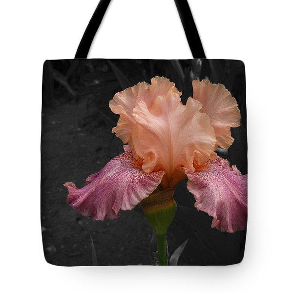 Tote Bag featuring the photograph Iris2 by David Pantuso
