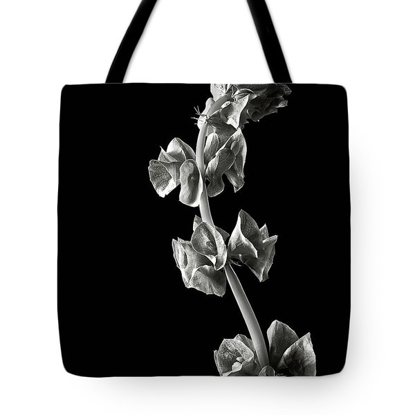 Irish Bells In Black And White Tote Bag