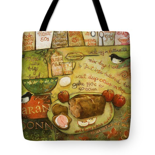 Irish Brown Bread Tote Bag by Jen Norton