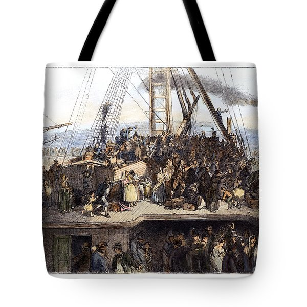Irish Immigrants, 1850 Tote Bag by Granger