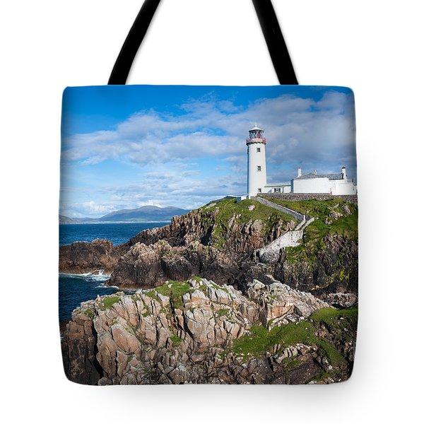 Irish Lighthouse Tote Bag