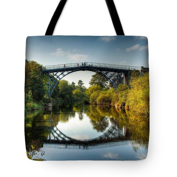 Ironbridge Tote Bag by Adrian Evans
