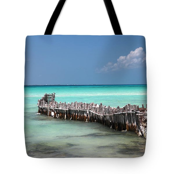 Isla Mujeres Tote Bag