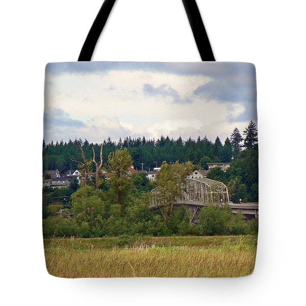 Island Bridge Tote Bag by Pamela Patch
