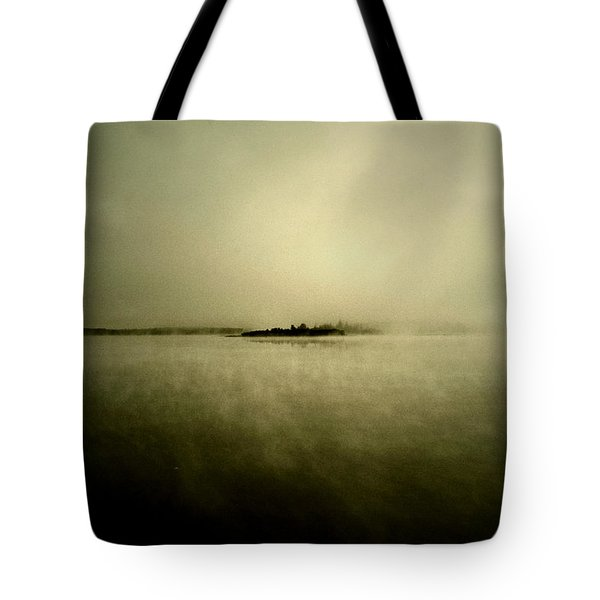 Island Of Mystic  Tote Bag by Jerry Cordeiro