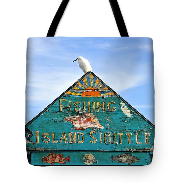 Island Shuttle Tote Bag by David Lee Thompson