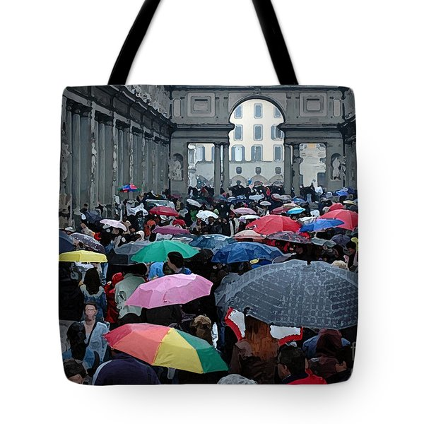 Tote Bag featuring the photograph It Rains by Vivian Christopher
