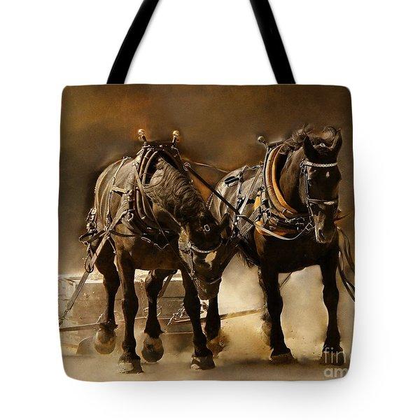It Takes Two Tote Bag by Davandra Cribbie
