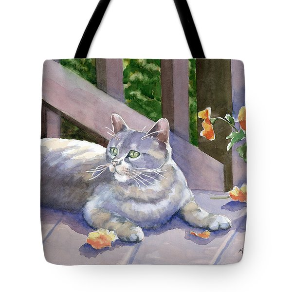It Wasn't Me Tote Bag by Marsha Elliott