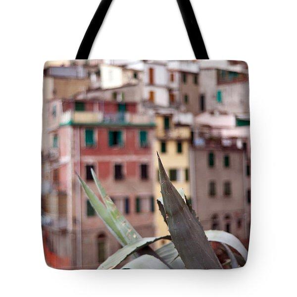 Italian Aloe Tote Bag by Mike Reid