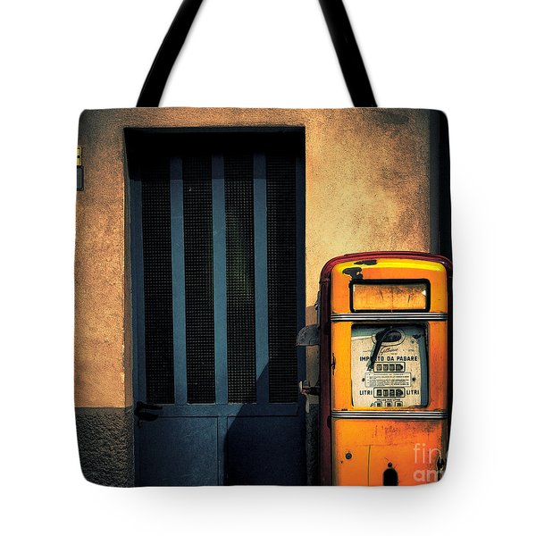 Italian Gasoline Tote Bag