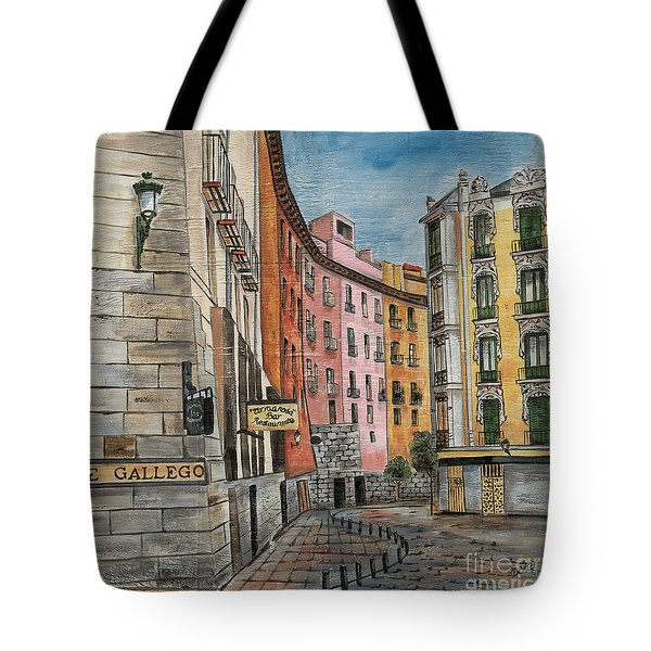 Italian Village 2 Tote Bag