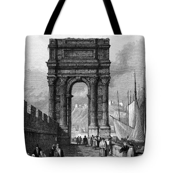 Italy: Ancona, 1833 Tote Bag by Granger