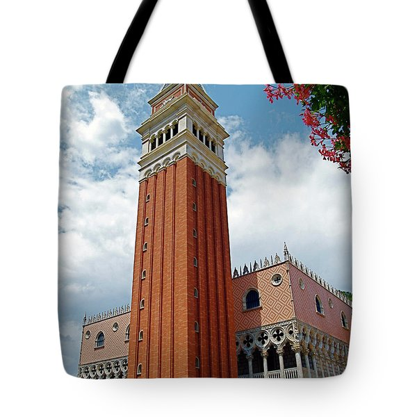 Italy In Orlando Tote Bag