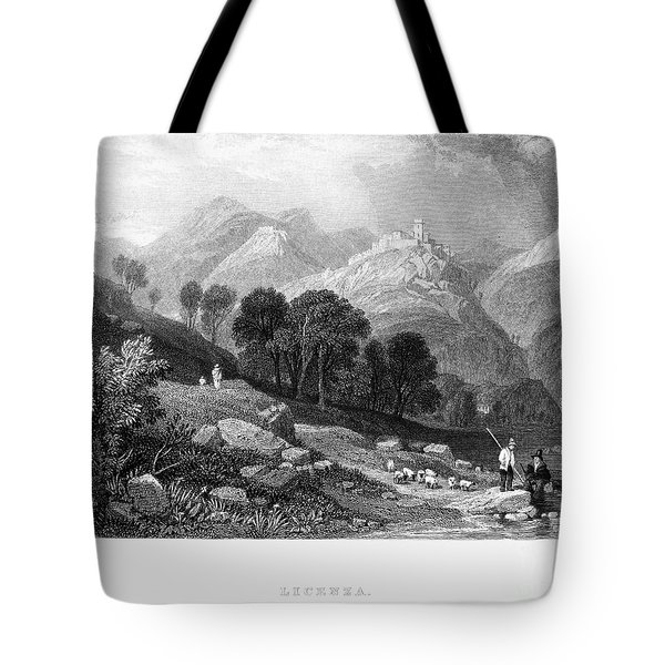 Italy: Licenza, 1833 Tote Bag by Granger