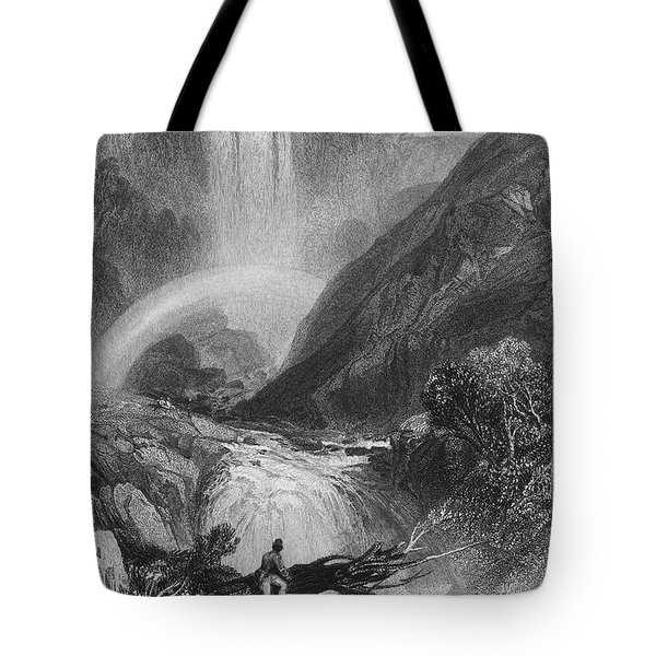 Italy: Waterfall, 1833 Tote Bag by Granger