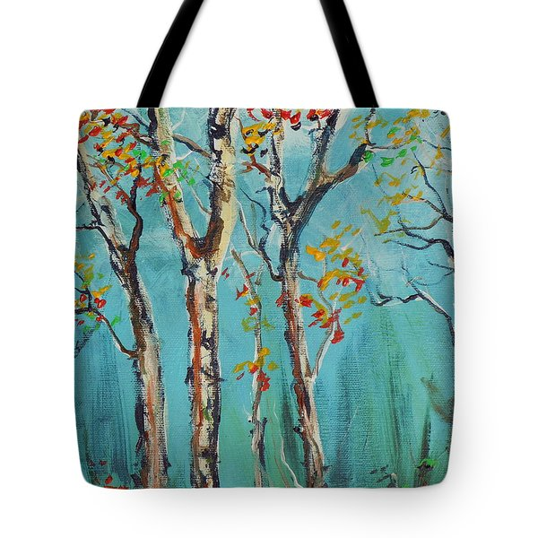 Tote Bag featuring the painting It's A Good Day by Dan Whittemore