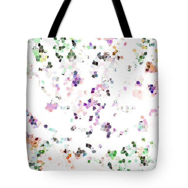 Tote Bag featuring the digital art It's A Mad World  by Steve Taylor