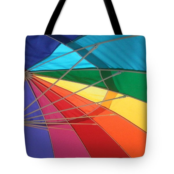 Tote Bag featuring the photograph It's A Rainbow by David Pantuso
