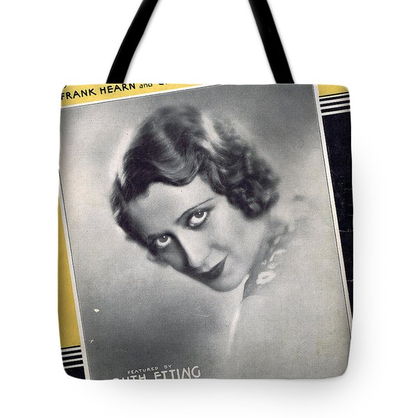It's Love Tote Bag by Mel Thompson