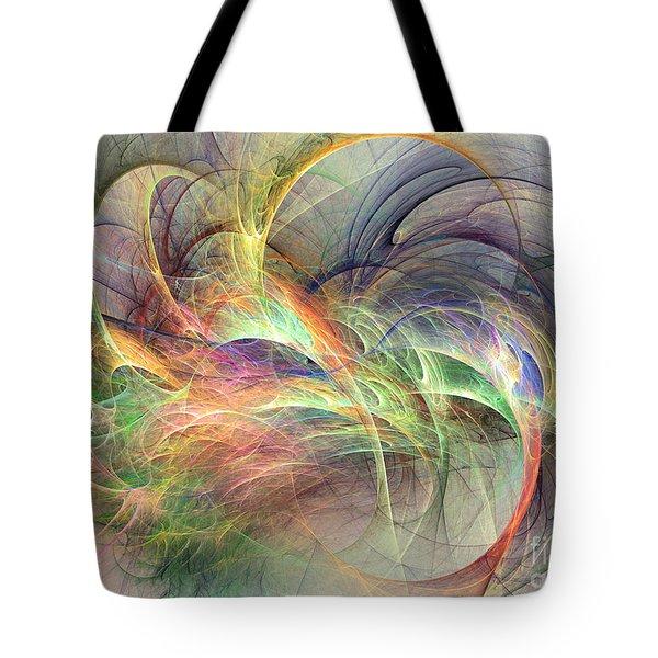 I've Made Up My Mind Tote Bag