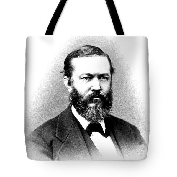 J. J. Woodward, American Pioneer Tote Bag by Science Source