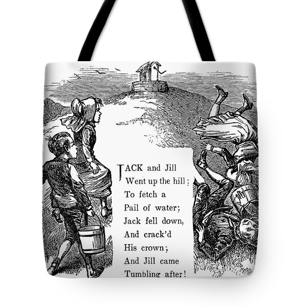 Jack And Jill Tote Bag by Granger