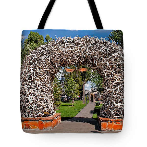 Jackson Hole Tote Bag by Robert Bales