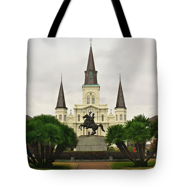 Jackson Square Tote Bag by Perry Webster