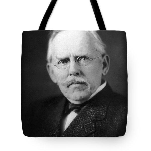 Jacob A. Riis (1849-1914) Tote Bag by Granger